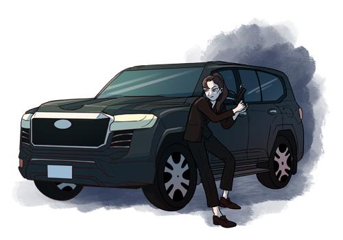 내 사람은 어떻게든 지킨다! 안전 보디가드 SUV